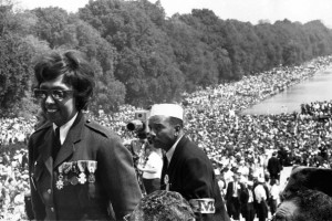Josephine Baker at the 1963 March on Washington for Jobs and Freedom