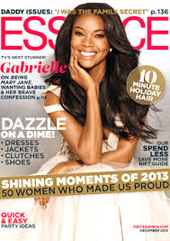 Great article on/by Gabrielle Union in the December issue of Essence.