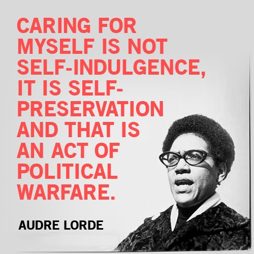 audrelorde self-care