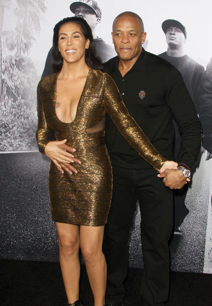 Dre and his wife